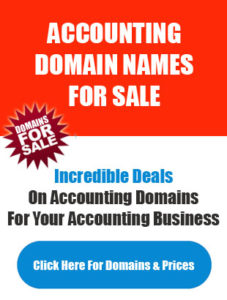 Accountant Domain Names For Sale